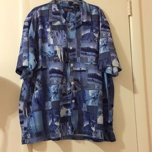Harbour Bay HB Sport Hawaiian Shirt 3X